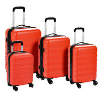4PCS Luggage Set Travel Bag ABS Trolley Spinner Suitcase 16