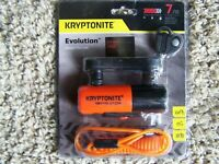 Kryptonite Evolution Compact Disc Lock for Motorcycle Scooter, ATV grade 7 NEW