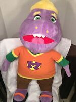 "EUC-HTF-RARE-32"" Chuck E Cheese Mr MUNCH! Fun Furry Limited Soft Plush Doll"