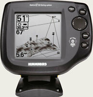 Humminbird matrix 47 3D uber rare 3dview complete ready to fish kayak fishfinder