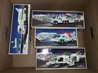 HESS Toys set of 4 (includes Trucks, Airplanes, Helicopters, Motorcycle)