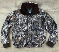 Drake Waterfowl Systems Jacket Coat Mens Size Small Max 4 Camo MagnAttach Hunt