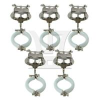 5 PCS Metal Music Sheet Clip Holder for Clarinet Silver