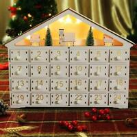 MorTime 24 Day Advent Calendar Premium Christmas Dcor | Painted Characters | 10