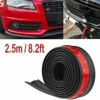 8 Ft Universal Rubber Front Bumper Lip Add On Body Kit Splitter USA SHIPPER $9.99