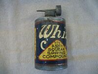 Vintage Whiz Anti-Squeak Spring Compound Pint Can ~ Whiz Oil ~ Rare