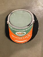 Vintage Sewing Kit Cardboard Paper Minnesota Exterior Minnflo-X Paint Can MN
