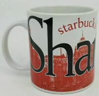 Starbucks Large Shanghai Skyline City Mug 20 oz Coffee Cup Collector Series 2004