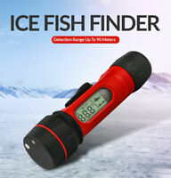 Wireless Echo Sounder Digital Handle Transducer Sensor Sonar Ice Fish Finder