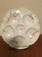Antique Theodore Haviland Limoges Porcelain Oyster Plate 5 Well  1903