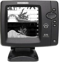 Humminbird Fishfinder 570 Di Down Imaging HEAD UNIT ONLY
