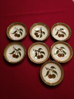 STANGL POTTERY ORCHARD SONG PATTERN FRUIT/CEREAL BOWL - SET OF 7 crate