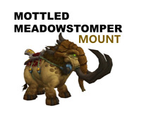 Mottled Meadowstomper World of Warcraft WoW Mount US/NA