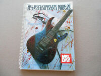 COMPLETE BOOK OF BLUES GUITAR LICKS amp; PHRASES By Austin Sicard VG $8.75