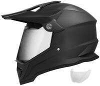 Motocross Helmet DOT Adult Dirt bike Off Road ATV Matte Black S M L XL XXL