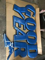Vintage Goodyear Porcelain Signs