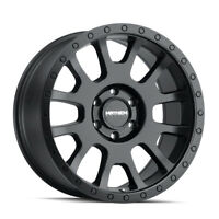 4 New 17X8.5 Mayhem Scout Black-Matte Wheel/Rim 6x139.7 ET-5 8302-7883MB-5