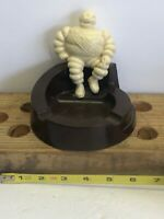 VINTAGE 1940s BAKELITE MICHELIN MAN-ASHTRAY-ASH TRAY-ADVERTISING PIECE MINT