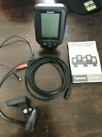 HUMMINBIRD  piranhamax 175 FISHFINDER W/ MOUNT & transducer ready to fish