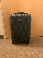 Samsonite Centric Carry on Expandable Luggagewith Spinner Wheels - Black