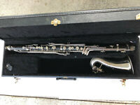 RIDENOUR LYRIQUE 925e Bb BASS CLARINET - Great Playing Condition