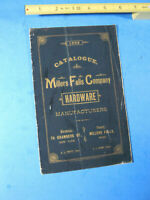 1886 MILLERS FALLS CO HARDWARE  CATALOG   32 PAGE ORIGINAL