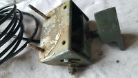 OMC VINTAGE Brass mounted Transom Mount HIGH SPEED TRANSDUCER LOWRANCE