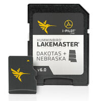 Humminbird LakeMaster Dakotas + Nebraska Charts Version 6 Fish Finder Lake Maps