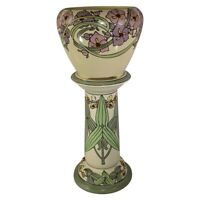 Roseville Pottery Persian Creamware Jardiniere And Pedestal 462-8