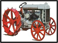 Fordson Tractors New Metal Sign:  Model F  Featured Large Size 12 x 16