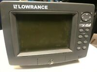 LOWRANCE LCX-15MT Fish Finder Chartplotter GPS Sonar Unit - Working Condition