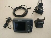 Humminbird 798ci side imaging GPS And Fish Finder (Transducer Cable Damage)
