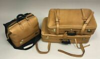 Swaine Adeney Brigg Luggage Set Handmade In England HRH Royal Warrant Leather