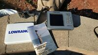 Lowrance HDS-5X with RAM Mount, Transducer and Power Cords