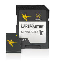 Fish Finder Mapping HUMMINBIRD LAKEMASTER CHART - MINNESOTA V9 MicroSD w Adapter