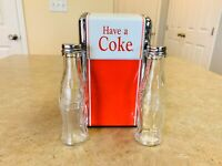 Coca Cola Salt And Pepper Shakers Napkin Dispenser