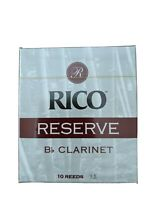 Rico Reserve (D'addario) Clarinet Reeds Box Of 10 Size 3.5