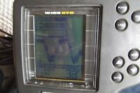Humminbird Wide Eye T fishfinder w/ Speed sensor and cable