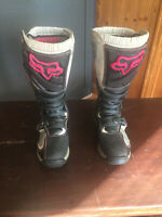FOX RACING WOMENS ADULT OFFROAD COMP 5 BOOT MX ATV MOTOCROSS SIZE 8