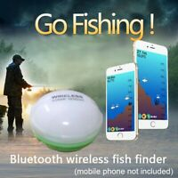 Portable Fish Finder Bluetooth Wireless Echo Sounder Sonar Sensor Depth...