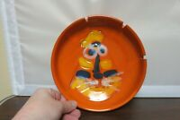 Vintage Italy Pottery TIGER Figure Face Bitossi Raymor Netter Ashtray/Bowl 8