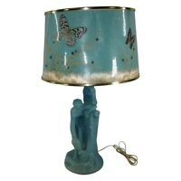 Van Briggle Pottery Rebecca At the Well Lamp With Original Shade