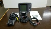 Hummingbird Wide Optic Fish Finder w/new transducer, very good condition