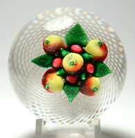 Antique New England Glass Company (NEGC) Mixed Fruit Paperweight