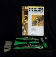 Venus Green Clarinet with Case and Book and 9 new Reeds