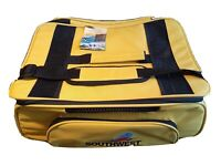 Travelers Choice Southwest Airline Large Carry On Bag Yellow Soft Shell Net Mesh