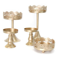 12 Pieces Cake Stands Iron Cupcake Holder for Wedding Birthday Party USA STOCK