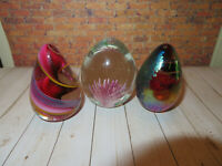 Art glass eggs paperweights or Collectiblles-2