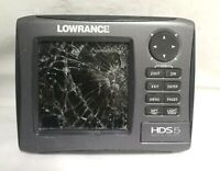 Lowrance HDS 5 Gen 2 Nautic Insight Color GPS DOES NOT WORK CRACKED