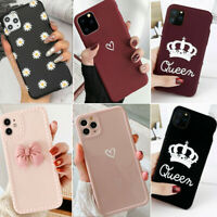 For iPhone 13 Pro Max 12 11 8Plus XS Max XR Case Cute Girls Silicone Phone Cover